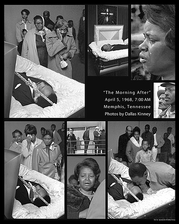 Photo Page on MLK Assassination