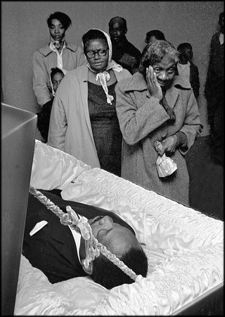 First to view MLK, morning after assassination